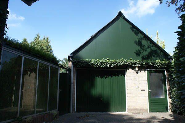 Deze vrijstaande seniorenwoning buiten schilderen, is een klus die pas is afgerond door Schildersbedrijf Van Reemst.