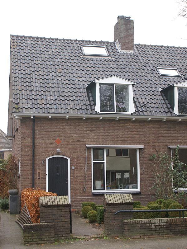 Jaren 30 huis. Buitenschilderwerk verzorgd door Schildersbedrijf Van Reemst in Bennekom.