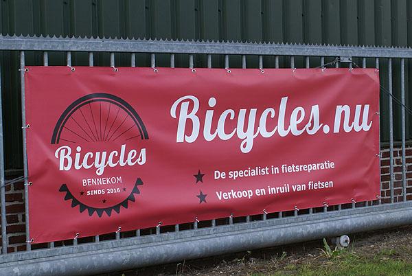 Winkelpui schilderen? Schildersbedrijf Van Reemst in Bennekom. Fietsenmakerij Bycicles.nu in Bennekom.