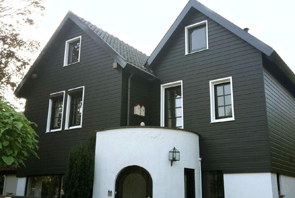 Hedendaags Markant vrijstaand 'houten' huis   Schildersbedrijf Van Reemst LC-16