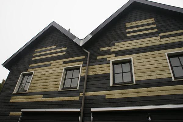 Markant 'houten' huis schilderen? Bel van Reemst in Bennekom