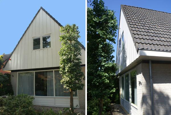 Vrijstaand huis Bennekom. Geschilderd door Schildersbedrijf Van Reemst Bennekom